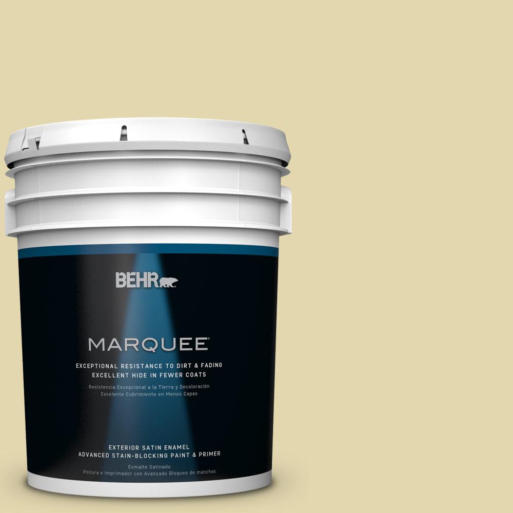 BEHR MARQUEE 5-gal. #M310-3 Champagne Cocktail Satin Enamel Exterior