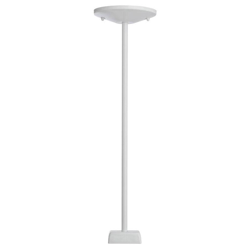 Designers Choice Collection 36 in. White Stem Kit Track Lighting Accessory-DISCONTINUED