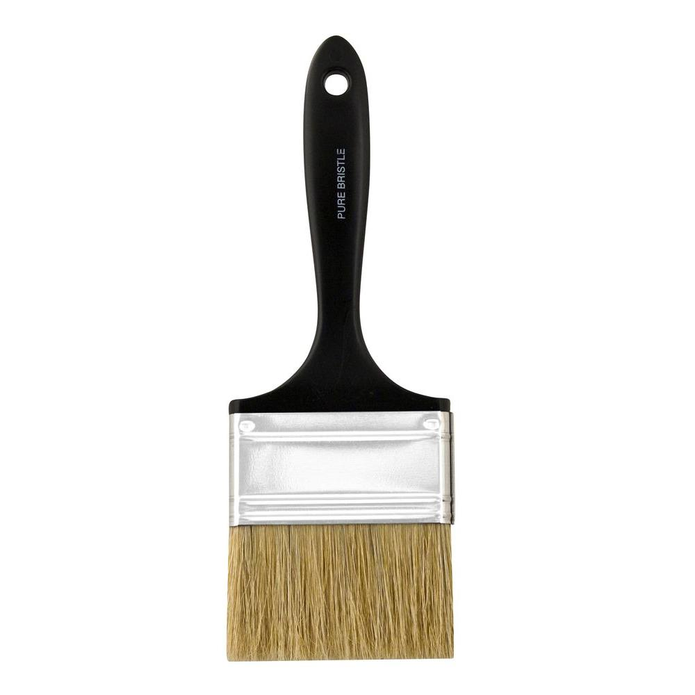 Wooster 3 in. Plastic Koter Bristle Flat Brush-0013270030 - The Home