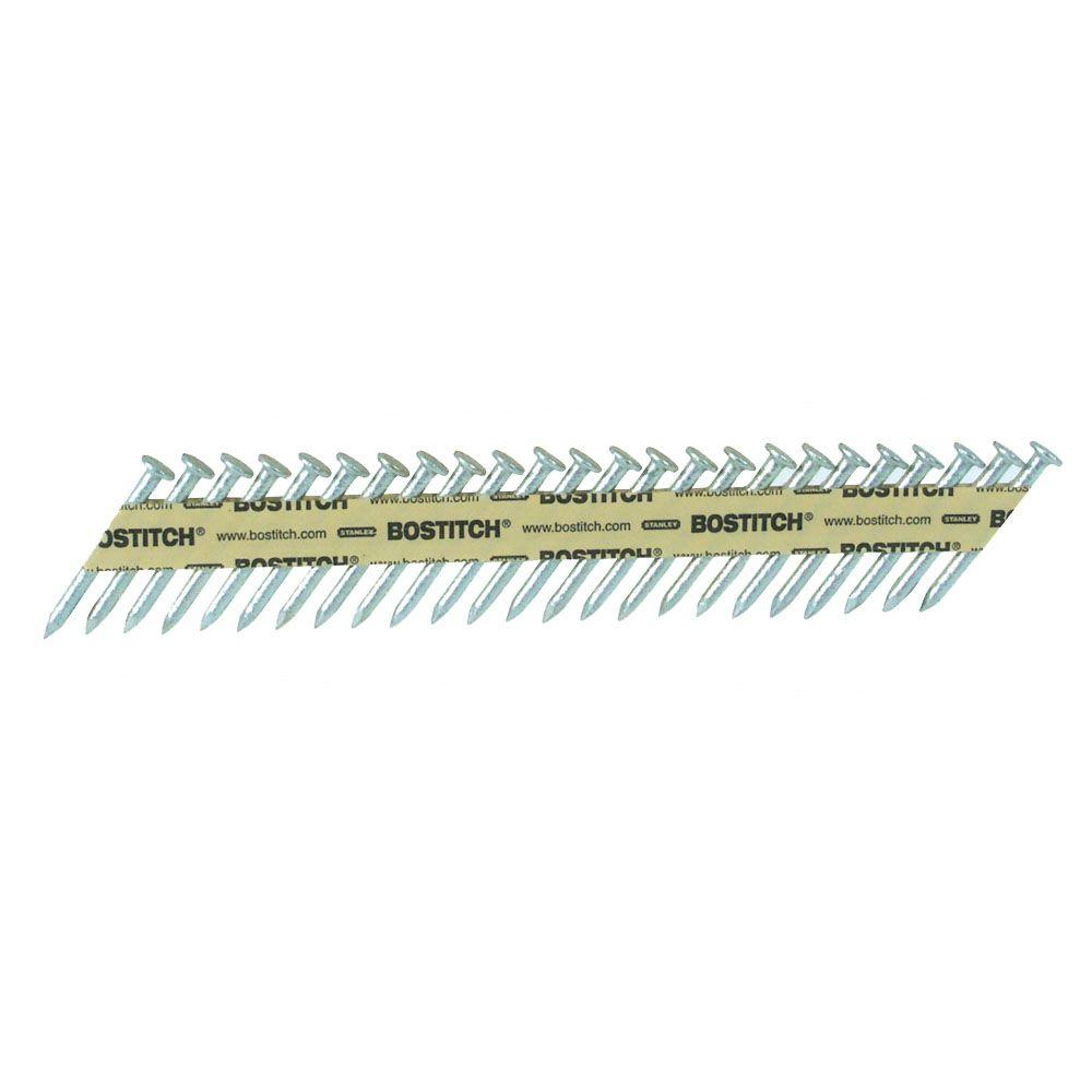 Bostitch Strapshot 1-1/2 in. x 0.131-gauge Paper Collated Steel Angled