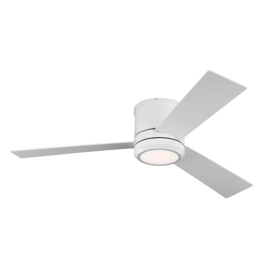 Monte Carlo Clarity Max 56 in. Indoor/Outdoor Rubberized White Ceiling Fan