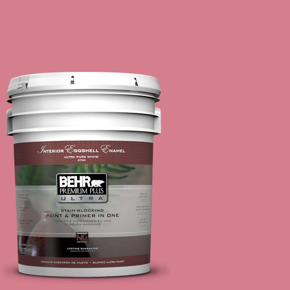 5-gal. #P140-4 I Pink I Can Eggshell Enamel Interior Paint