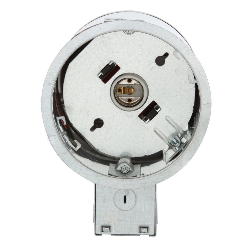 Recessed light can designed for use with various trims