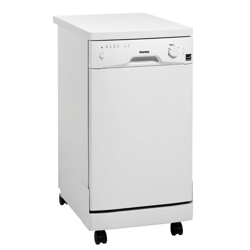 Danby Portable Dishwasher in White-DISCONTINUED