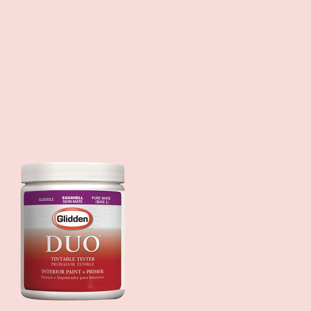 Glidden DUO 8 oz. #HDGR55U Pink Mimosa Latex Interior Paint Tester
