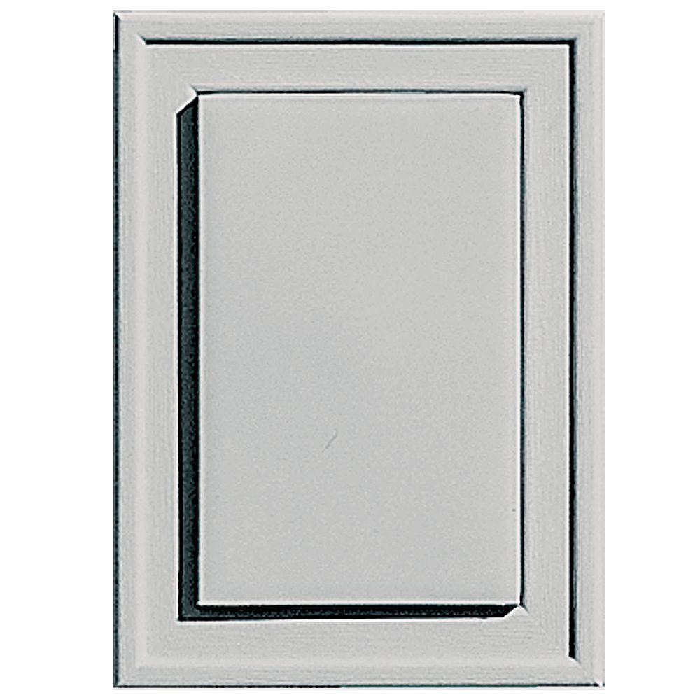 4.5 in. x 6.3125 in. #030 Paintable Raised Mini Mounting Block