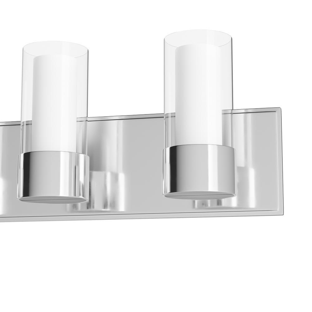 Maxim Lighting Silo 4 Light Polished Chrome Bath Vanity