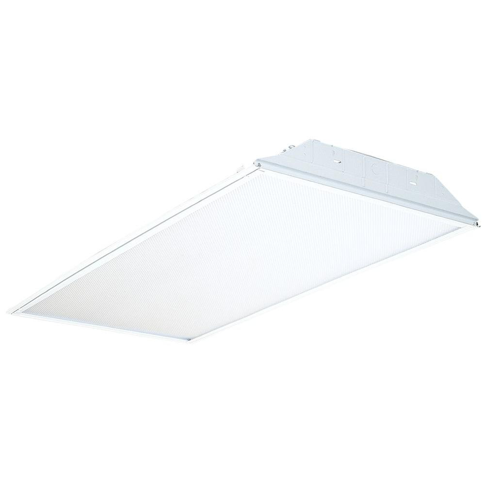 Lithonia Lighting 2-Light White Fluorescent General Purpose Troffer-2GT8 2 32