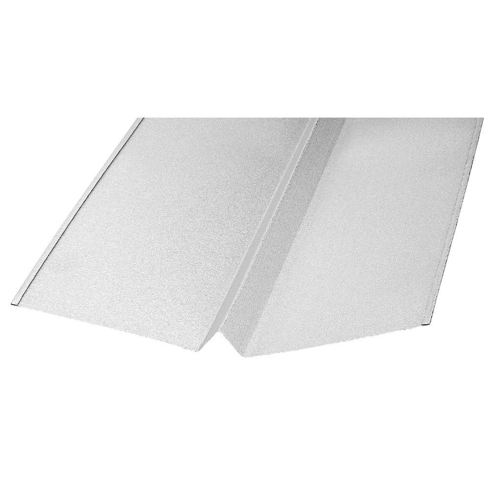 Construction Metals 18 in. x 10 ft. Galvanized W Valley Flashing