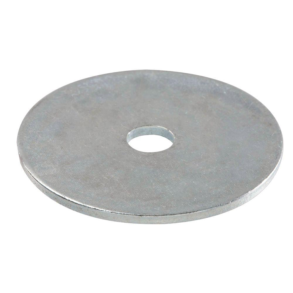 5/16 in. x 1-1/2 in. Zinc-Plated Fender Washer (100-Box)