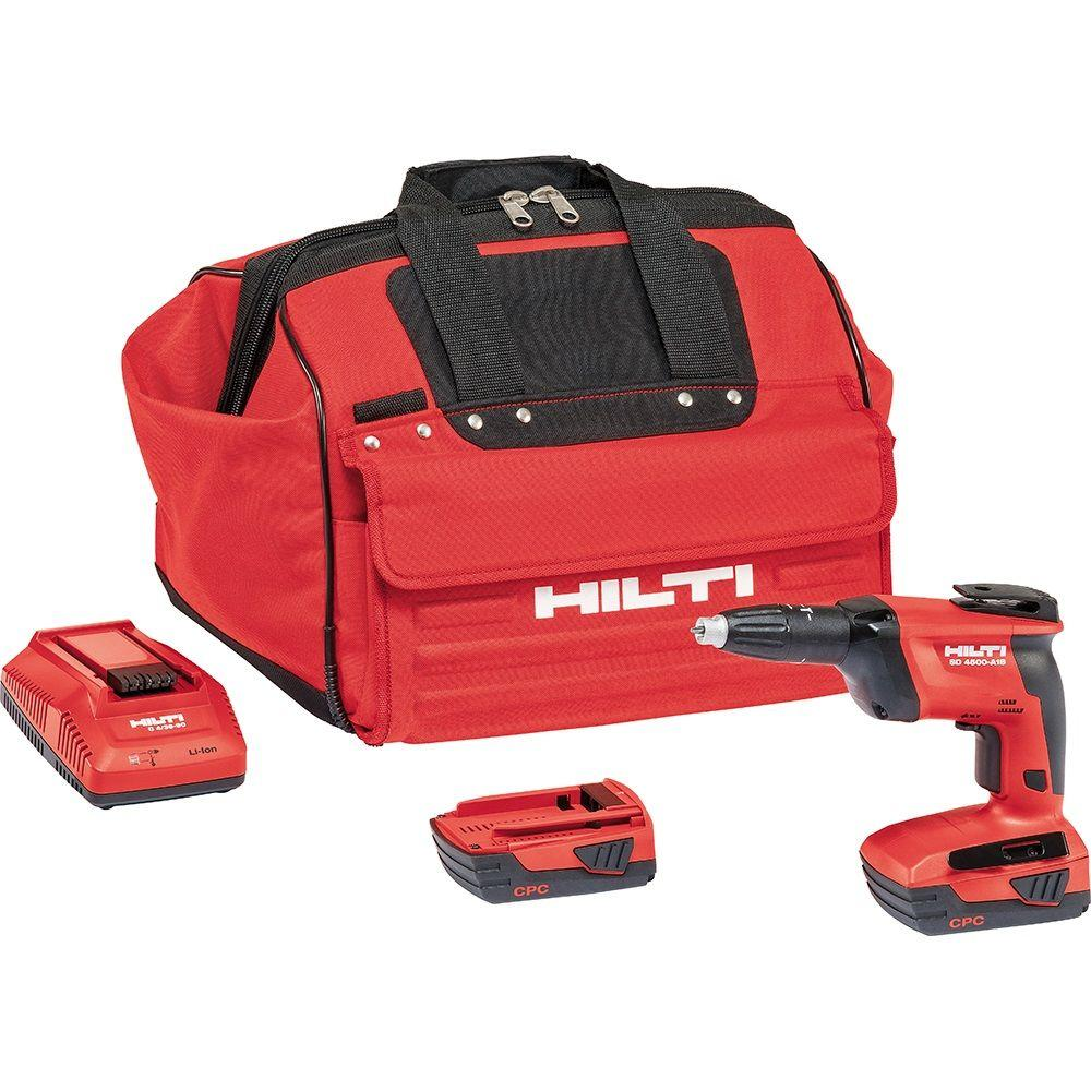 SD 4500 18-Volt Lithium-Ion 1/4 in. Hex Cordless Compact High Speed Drywall Screwdriver