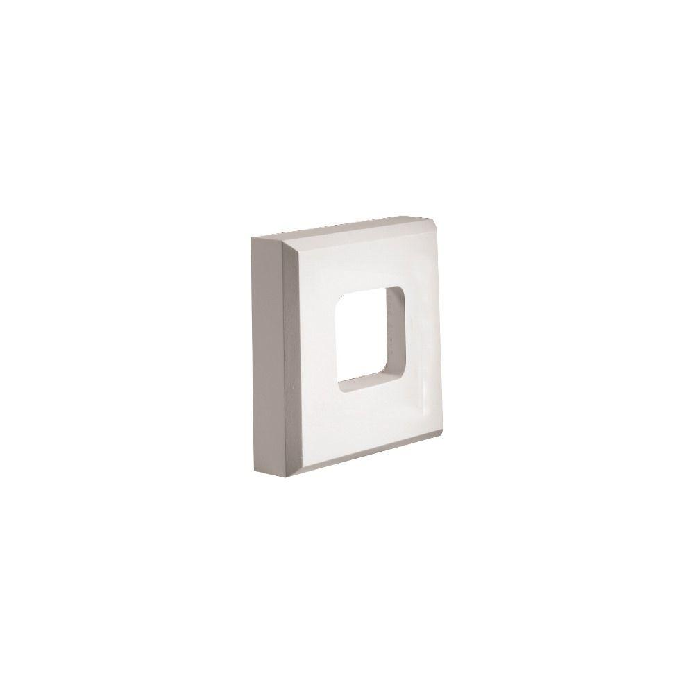 8 in. x 8 in. x 2 in. Polyurethane Square Fixture
