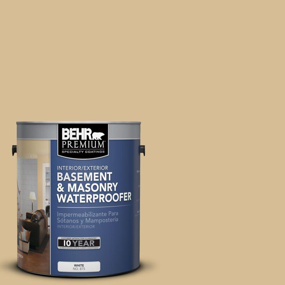 BEHR Premium 1-gal. #BW-50 Wheat Harvest Basement and Masonry Waterproofer