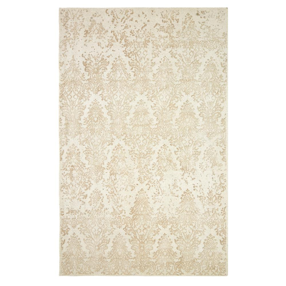 Milan Ivory/Taupe 2 ft. x 4 ft. Indoor Area Rug