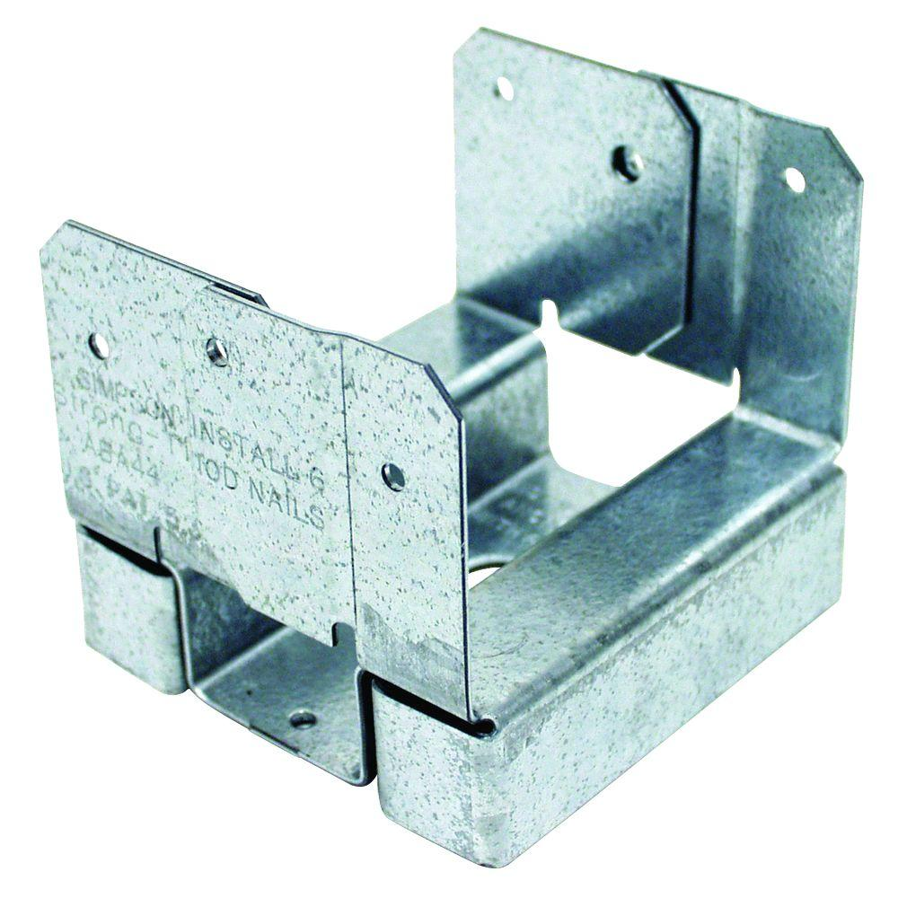 Simpson Strong-Tie ABA 4x4 ZMAX Galvanized Adjustable Post Base