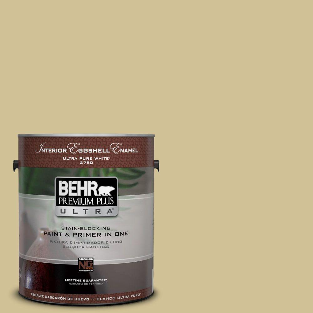 BEHR Premium Plus Ultra 1-gal. #370F-4 Winter Mood Semi-Gloss Enamel Interior