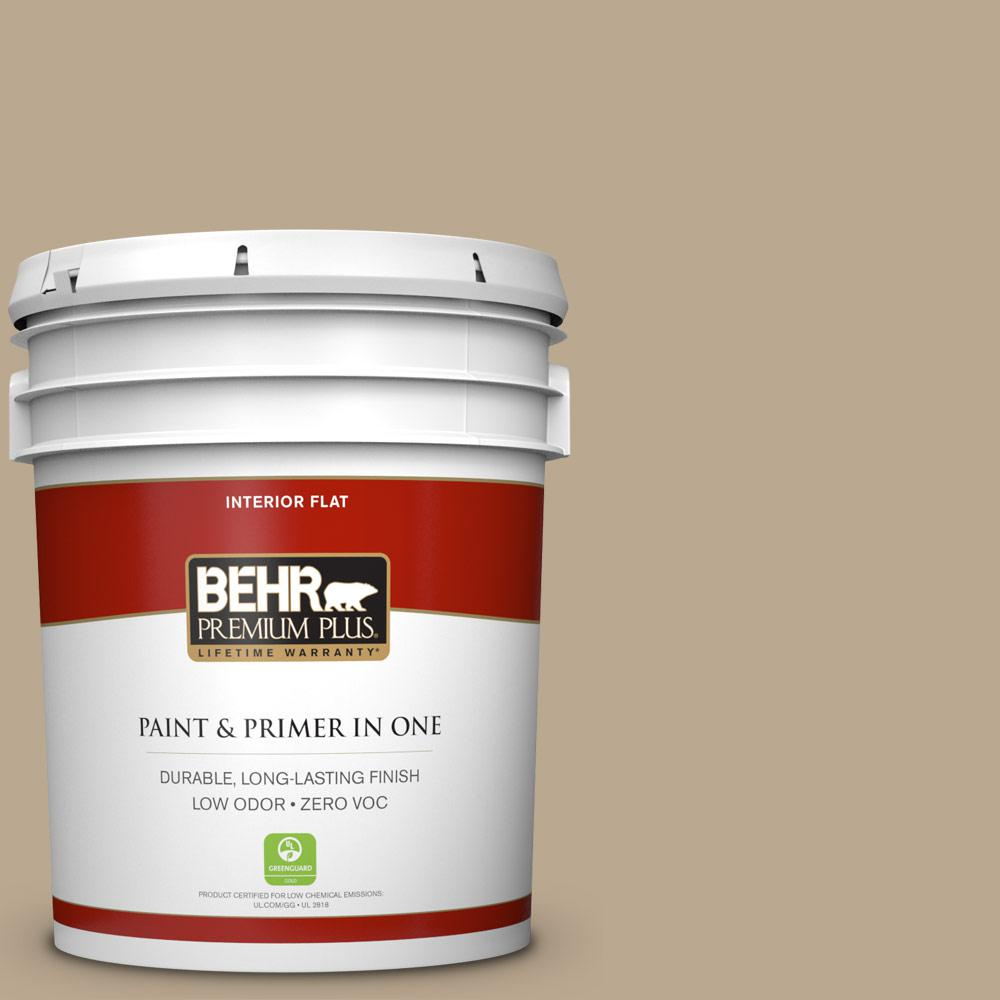 BEHR Premium Plus 5-gal. #N300-4 Open Canyon Flat Interior Paint