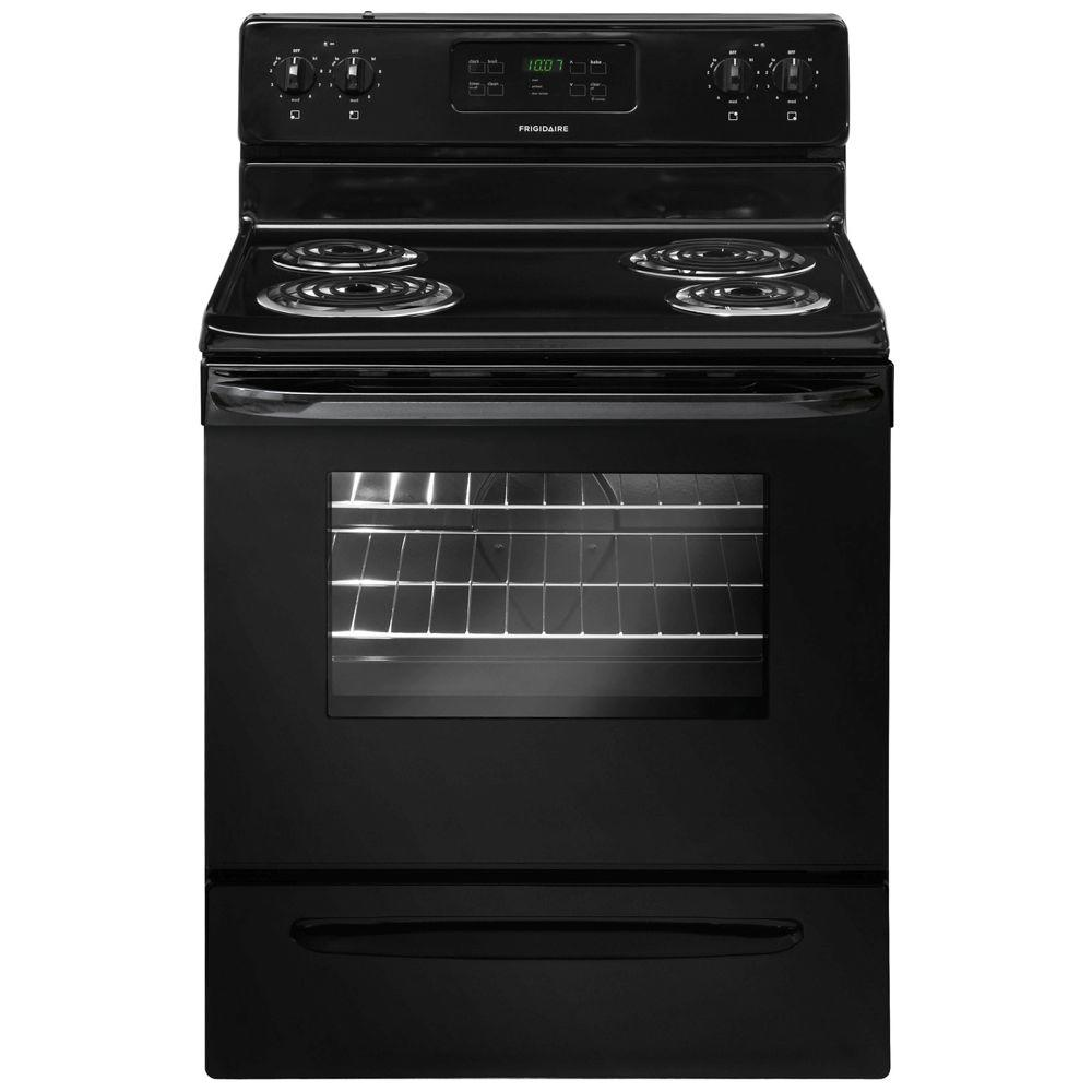 Frigidaire 30 in. 5.3 cu. ft. Electric Range with Self-Cleaning in ...