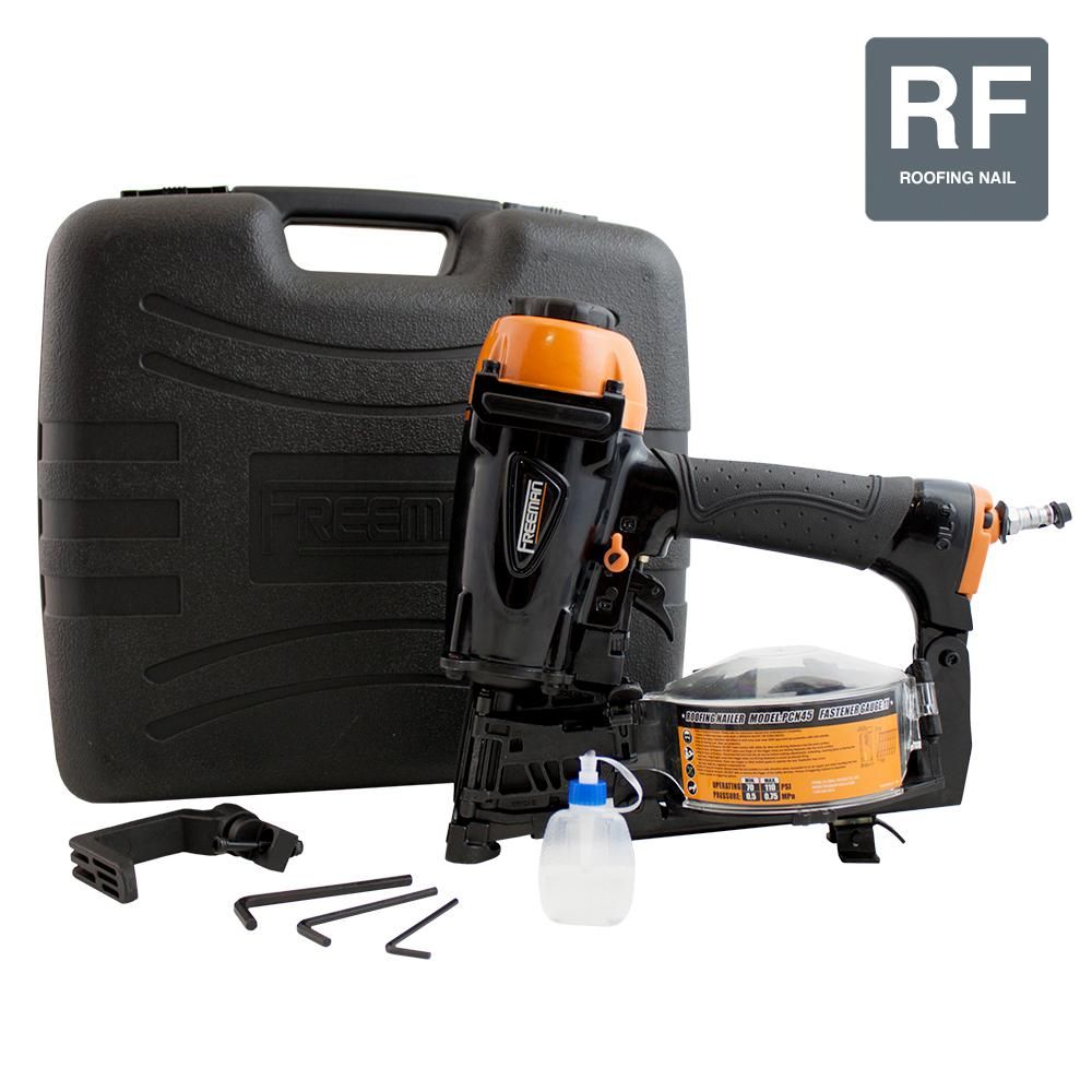 Freeman 15-Degree Coil Roofing Nailer-PCN45 - The Home Depot
