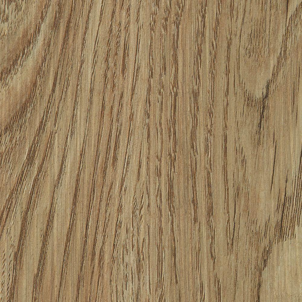 Hickory Natural 4 mm Thick x 7 in. Wide x 48 in. Length Click Lock Luxury Vinyl Plank (23.36 sq. ft. / case), Natural Brown/Embossed