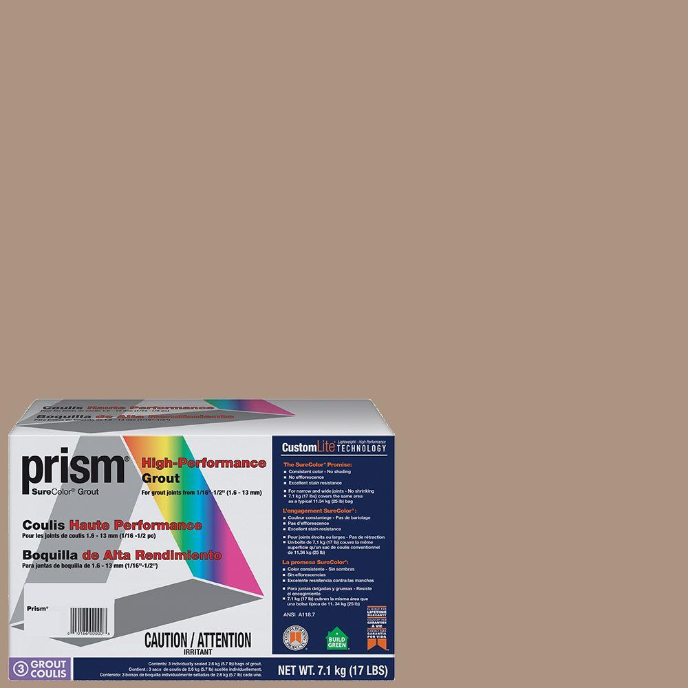 Custom Building Products Prism #135 Mushroom 17 lb. Grout-PG13517T - The