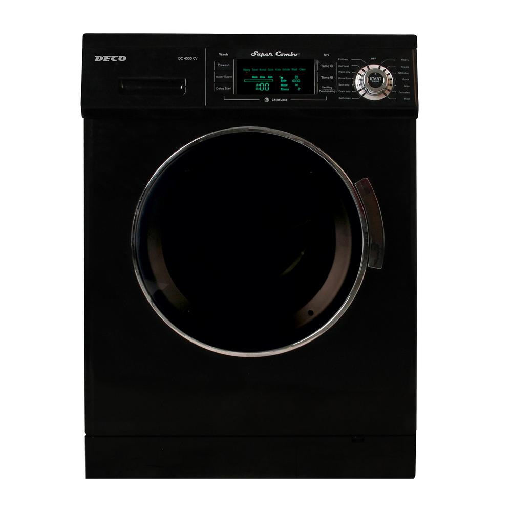 Deco All-in-One 1.6 cu. ft. Compact Combo Washer and Elec...
