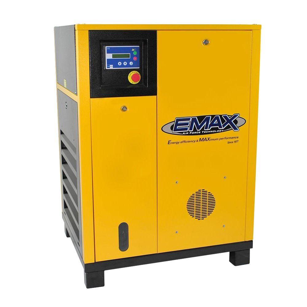 Premium Series 20 HP 3-Phase Stationary Electric Rotary Screw Air Compressor