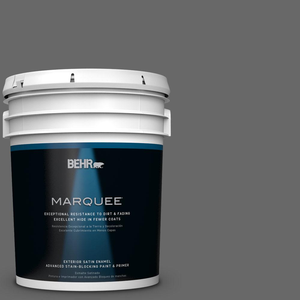 BEHR MARQUEE 5-gal. #T11-5 Not So Innocent Satin Enamel Exterior Paint
