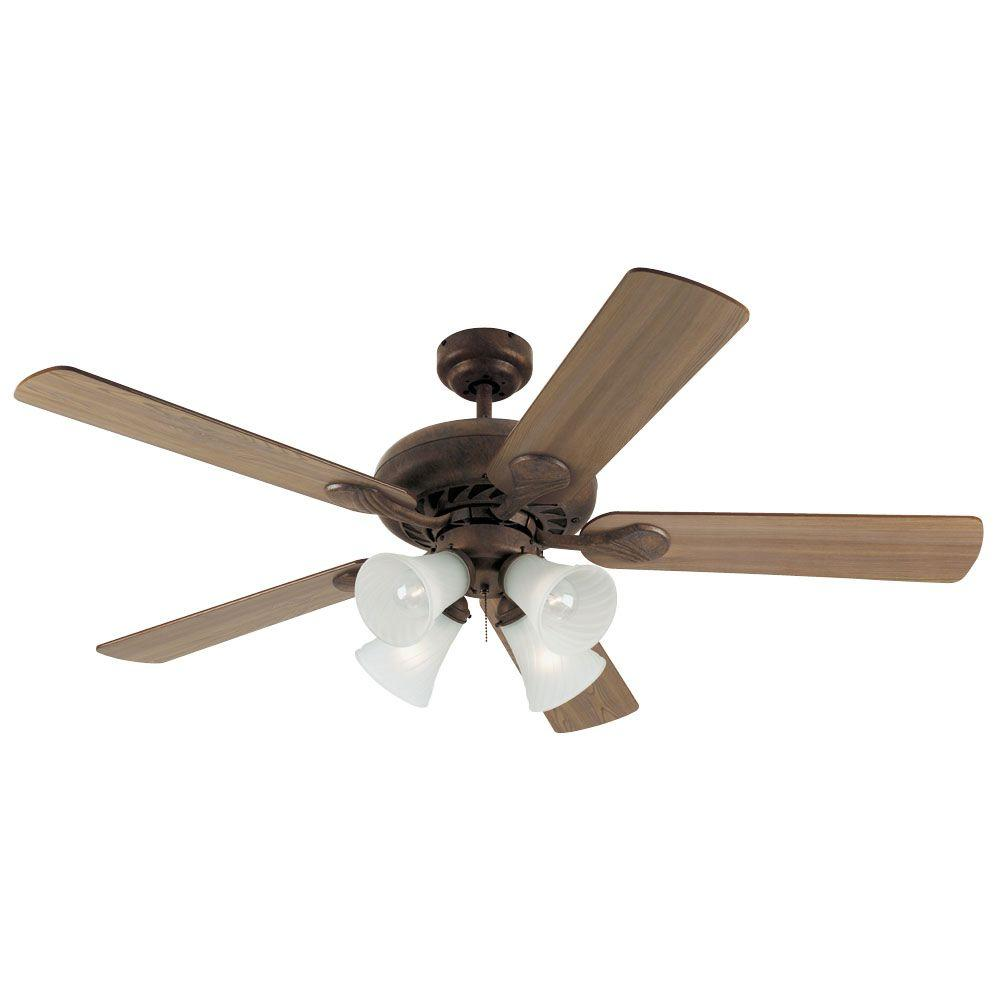 Westinghouse Swirl 52 in. Old Chicago Ceiling Fan-DISCONTINUED