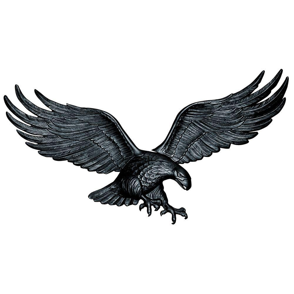 Whitehall Products 36 In Black Wall Eagle 00735 The