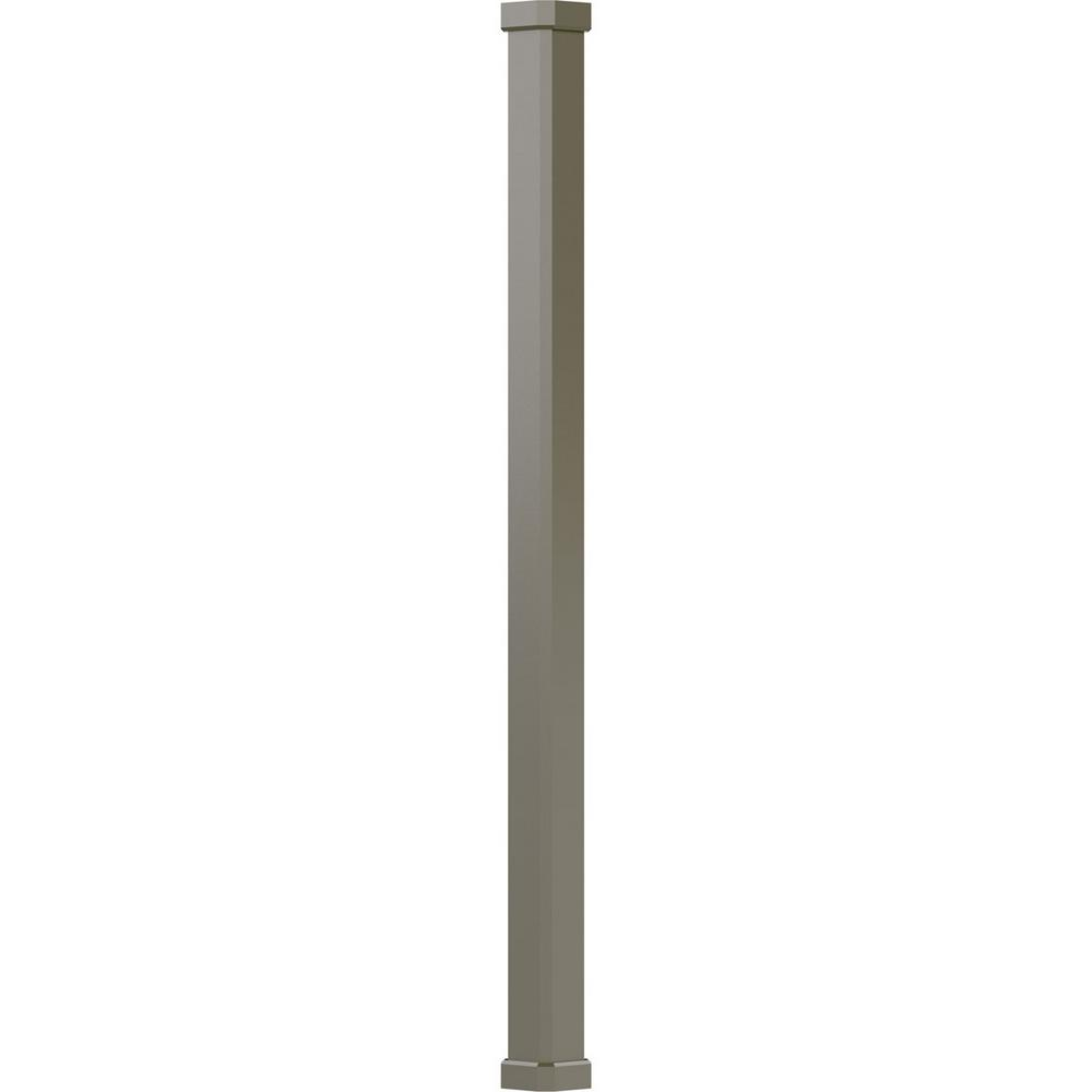 AFCO 5-1/2 In. X 9 Ft. Clay Non-Tapered Square Shaft (Load