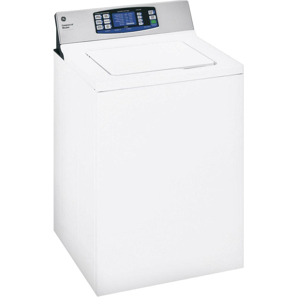 GE 3.6 DOE cu. ft. Top Load Washer in White-WNRD2050GWC ...
