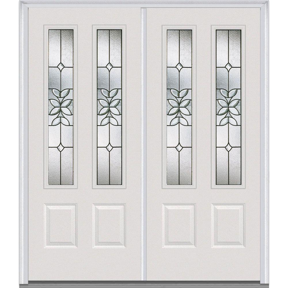 Milliken Millwork 66 in. x 81.75 in. Cadence Decorative Glass 2