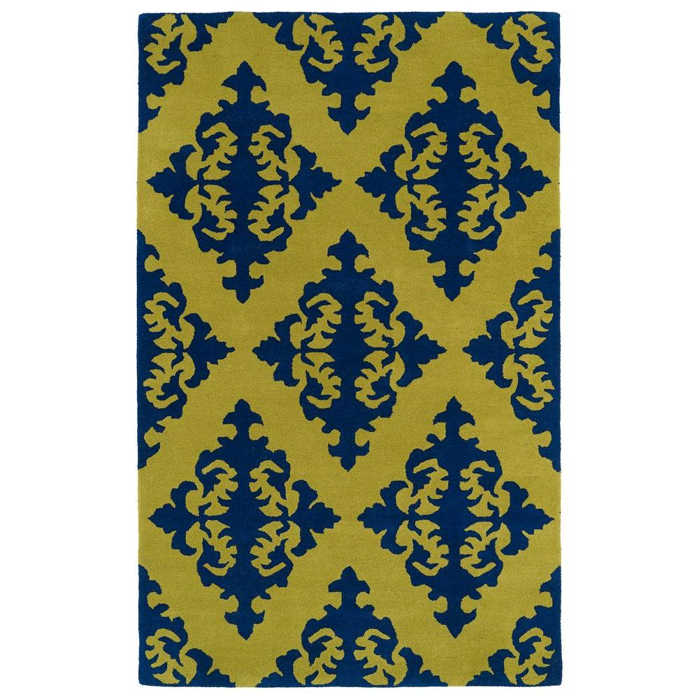 Evolution Wasabi 9 ft. 6 in. x 13 ft. Area Rug