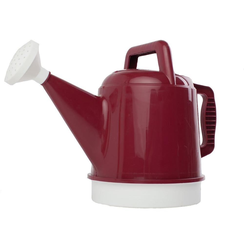 Bloem 2.5 Gal. Union Red Deluxe Watering Can-DWC2-12 - The Home