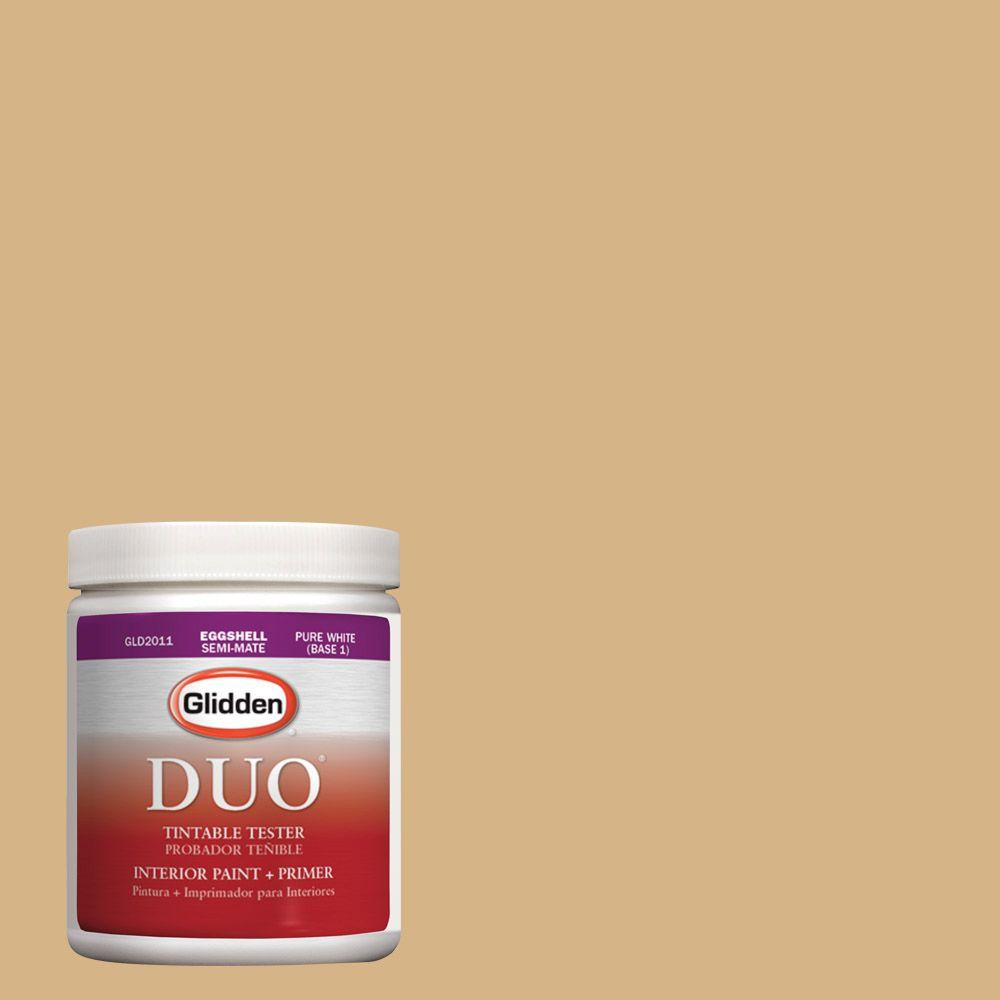Glidden DUO 8 oz. #HDGY11 Grand Canyon Gold Latex Interior Paint Tester