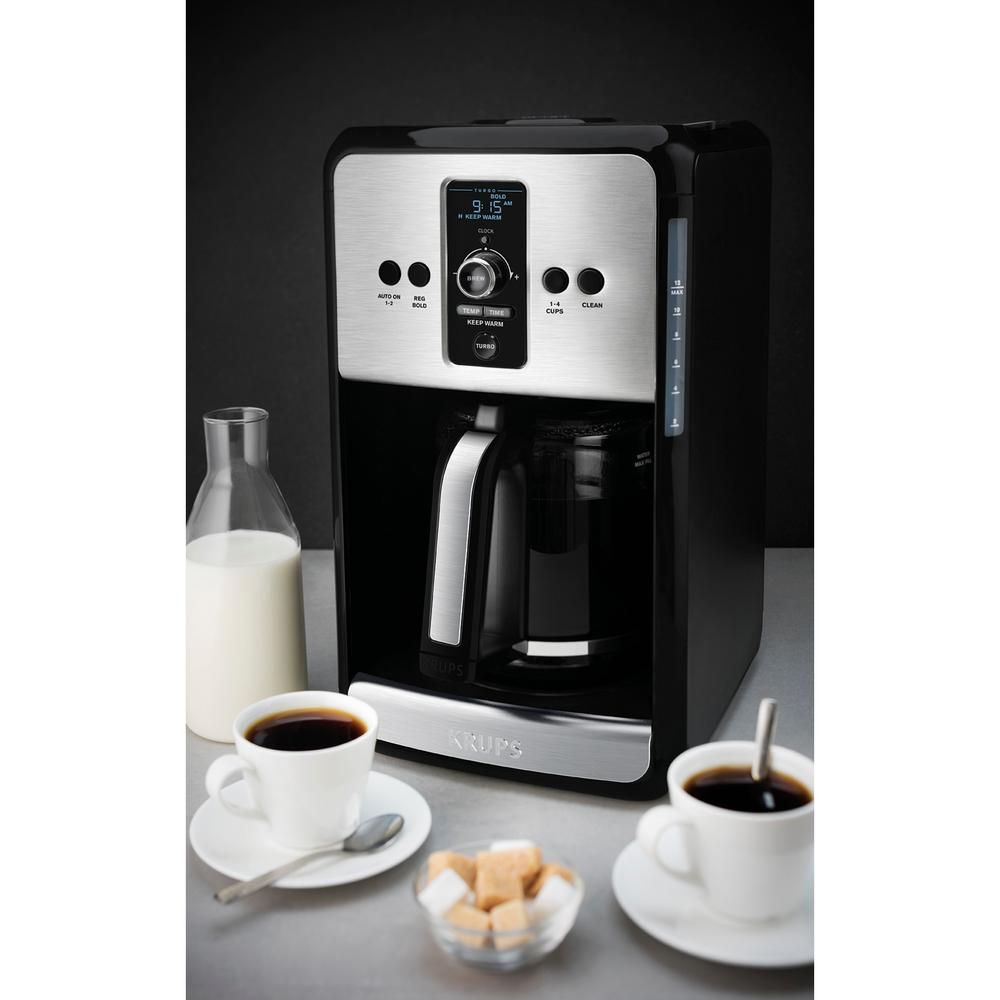 Savoy Turbo 12C Coffee Maker Black