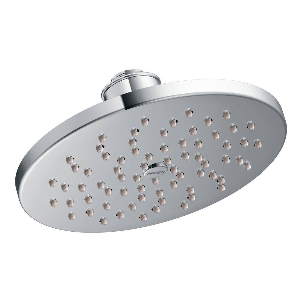MOEN 1-Spray 8 in. Rainshower Showerhead Featuring Immersion in Chrome-S6360 -