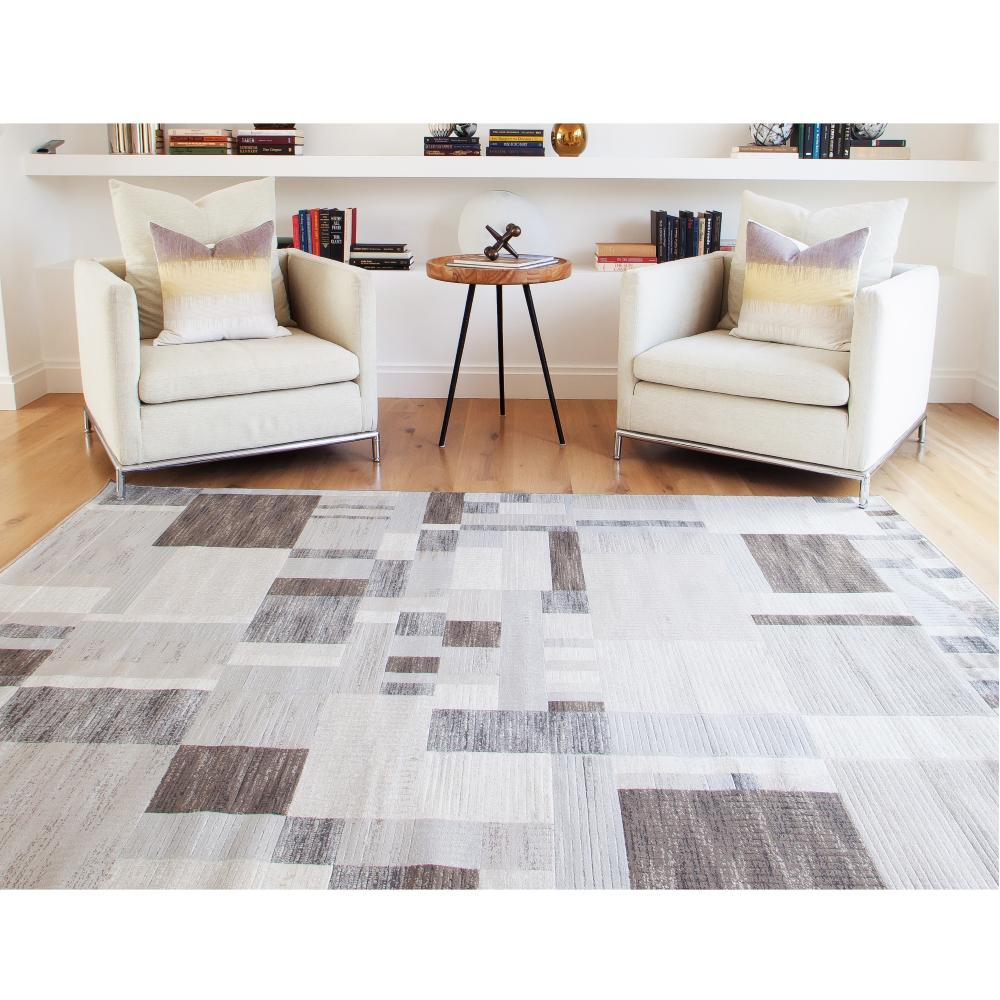 Sams International Sonoma Kelso Charcoal 5 ft. 3 in. x 7 ft. 6 in. Area Rug
