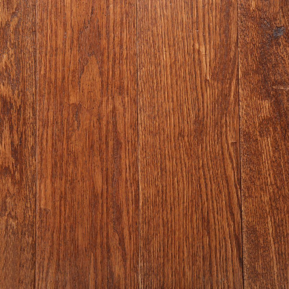 Bruce American Vintage Scraped Fall Classic 3/4 in. T x 5 in. W x Varying Length Solid Hardwood Flooring (23.5 sq. ft. / case)