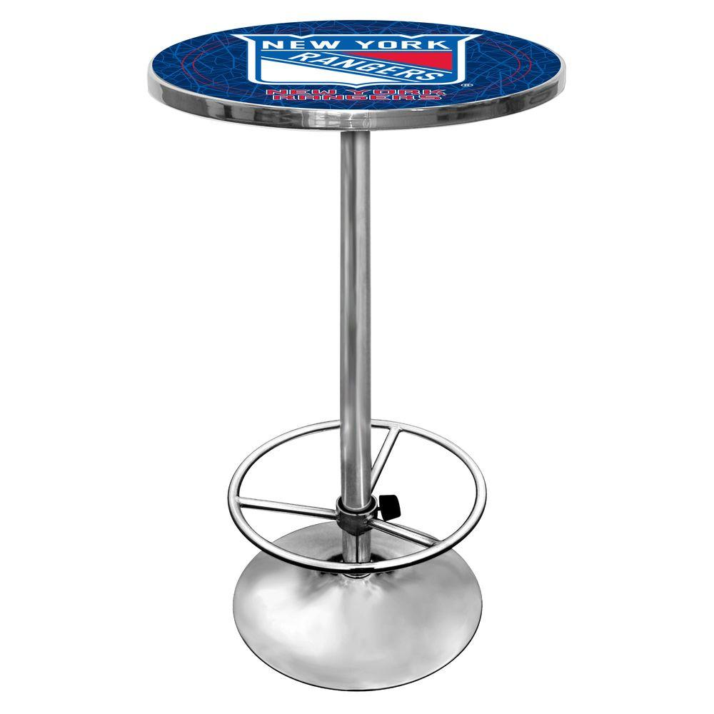 Trademark NHL New York Rangers 42 in. H Pub Table