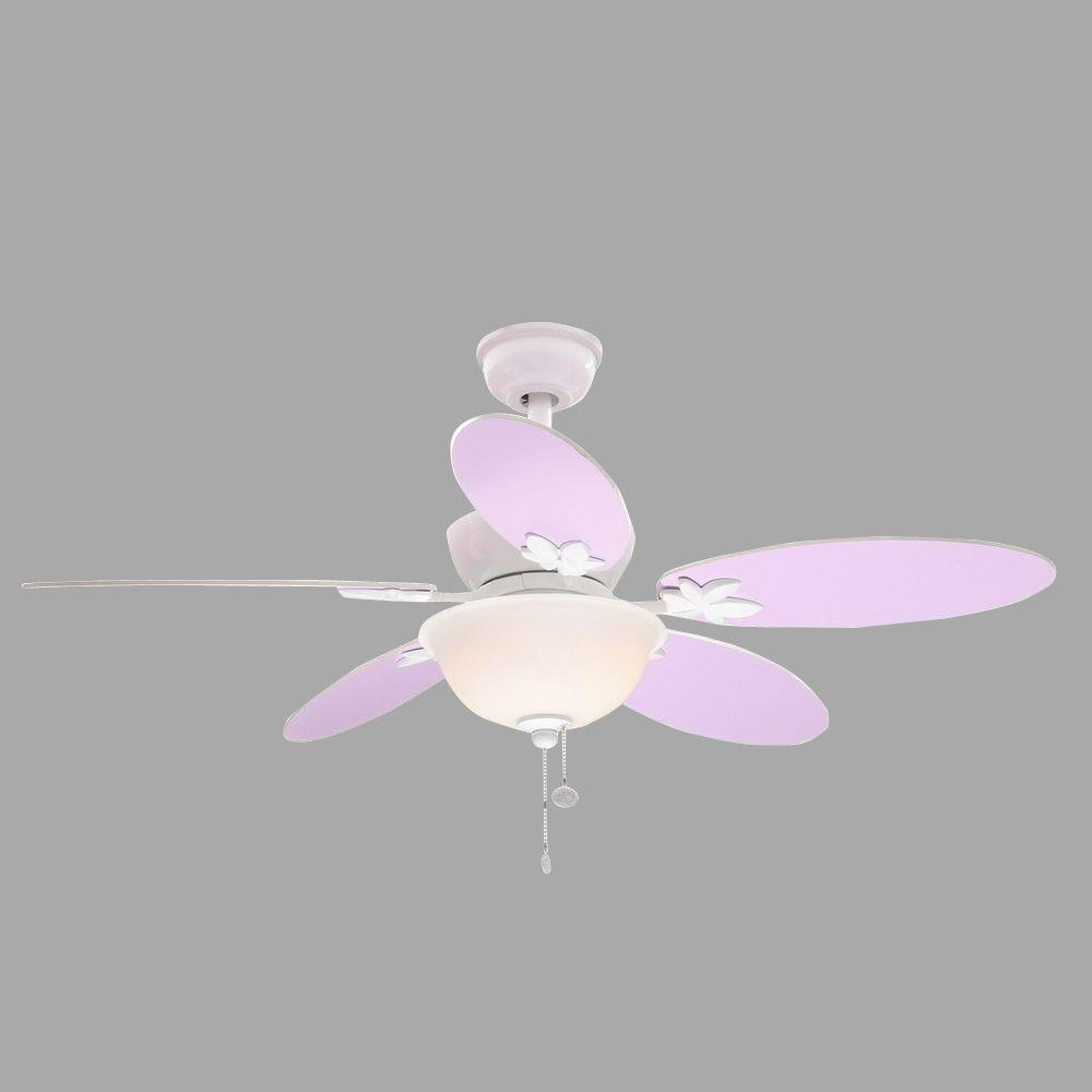 Harper III 44 in. White Ceiling Fan