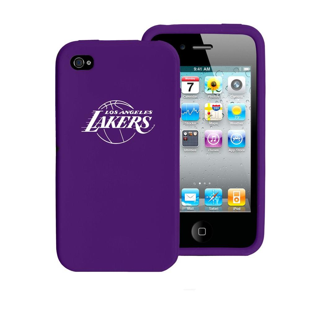 Tribeca Los Angeles Lakers iPhone 4 Silicone Case-DISCONTINUED
