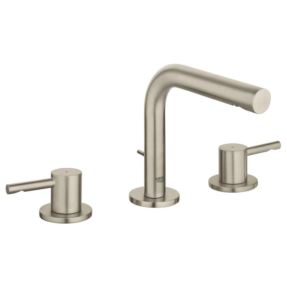 Essence New 8 in. Widespread 2-Handle 1.2 GPM Bathroom Faucet in