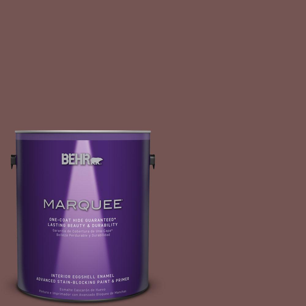 BEHR MARQUEE 1 gal. #MQ1-53 Rosy Sandstone One-Coat Hide Eggshell Enamel Interior Paint