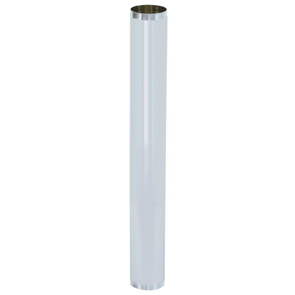 Eastman 1-1/2 in. x 12 in. Brass Threaded Tube-35126 - The