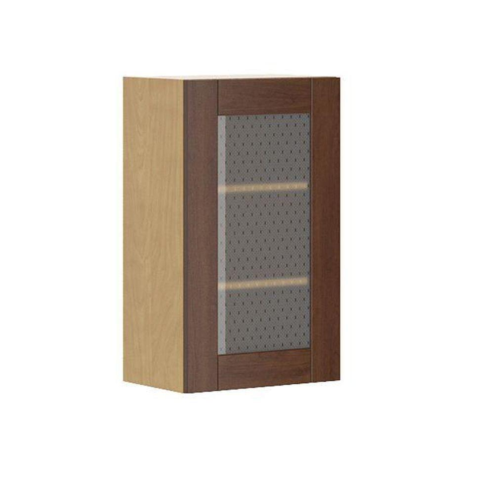 Ready to Assemble 18x30x12.5 in. Lyon Wall Cabinet in Maple Melamine