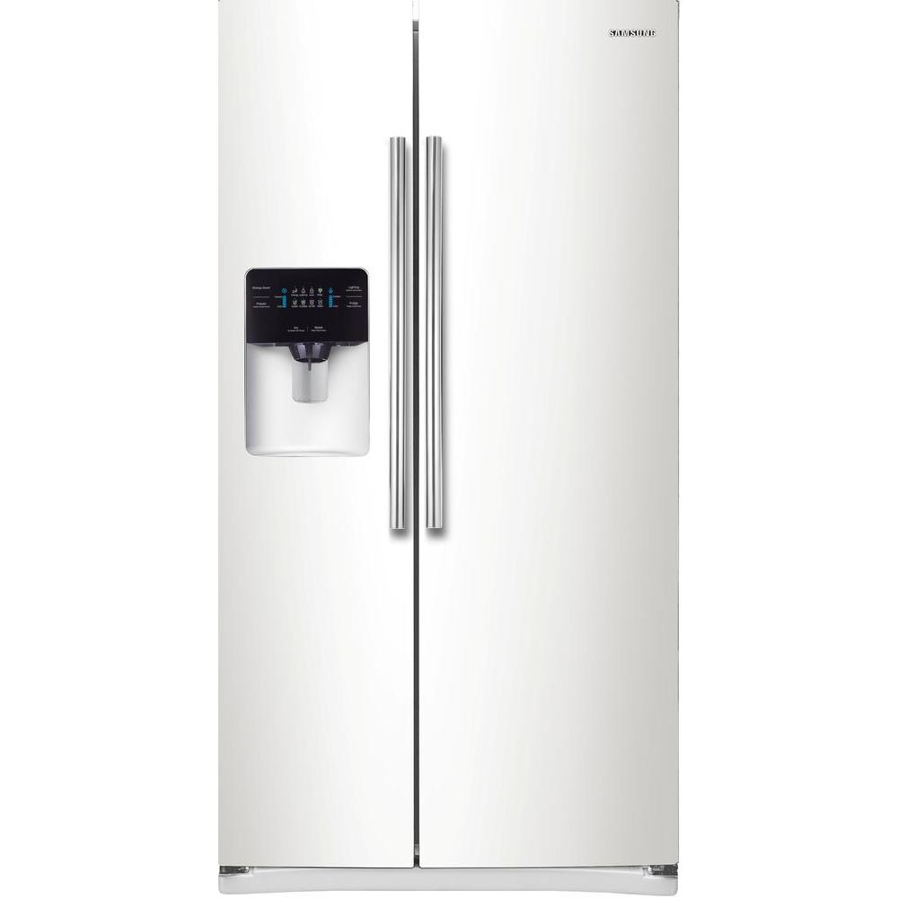 Samsung 24.5 cu. ft. Side by Side Refrigerator in White