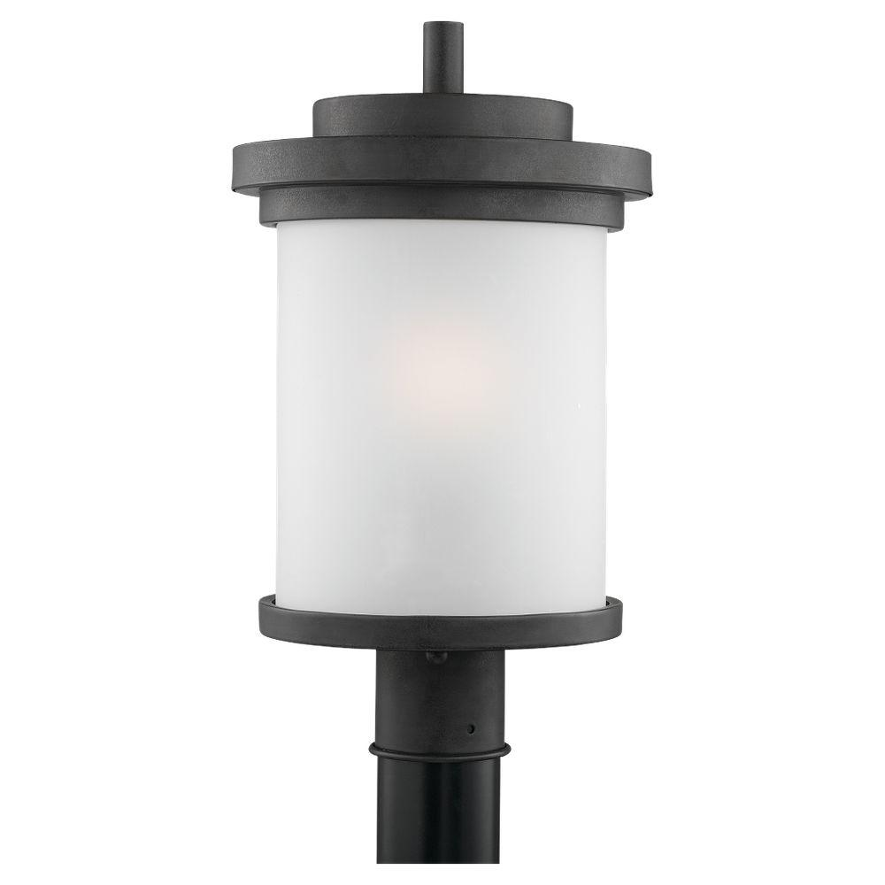 Sea Gull Lighting Winnetka 1-Light Forged Iron Outdoor Post Top-82660-185 -