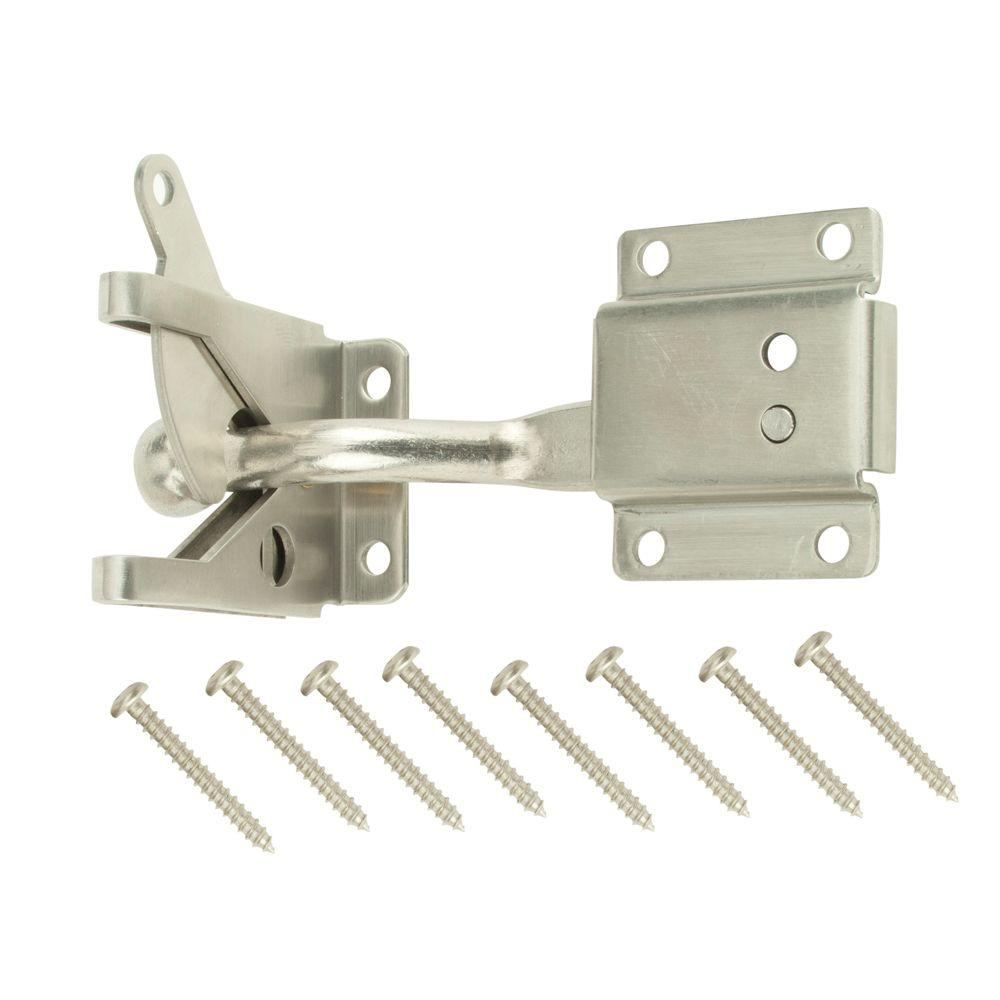 Stainless Steel Self-Adjusting Gate Latch